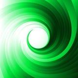 绿色漩涡 向量例证