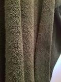 绿色灰色毯子 免版税库存照片