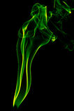 绿色烟 皇族释放例证