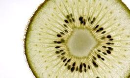 绿色猕猴桃片式 库存照片