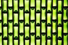 绿色玻璃屋顶 免版税库存照片