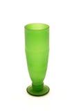 绿色玻璃或花瓶 库存图片