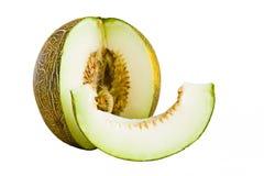 绿色瓜甜点 库存图片