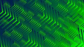 绿色的抽象 库存例证