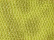 绿色皮革纹理 免版税库存照片