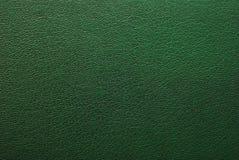 绿色皮革纹理 免版税库存图片