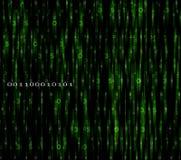 绿色监控程序编号 库存图片