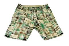 绿色短裤 库存照片