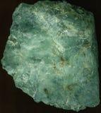 绿色石射击纹理从上面 库存图片