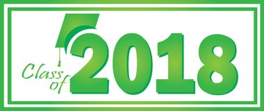 2018绿色类  免版税库存照片