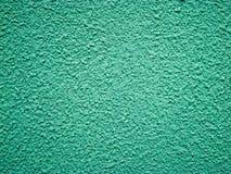 绿色粗砺的墙壁 图库摄影