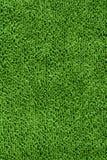 绿色纹理毛巾 免版税图库摄影