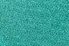 绿色织品背景纹理 纺织材料特写镜头细节  库存图片