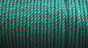 绿色绳索 库存照片