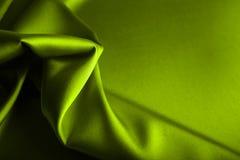 绿色缎 库存图片