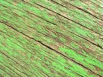 绿色老油漆 免版税库存图片