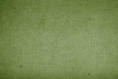 绿色老纸张 库存图片