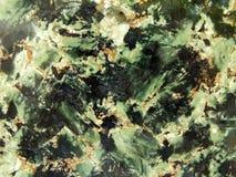 绿色花岗岩纹理 免版税库存图片
