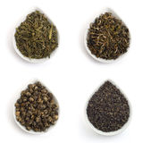 绿色茶叶 免版税图库摄影