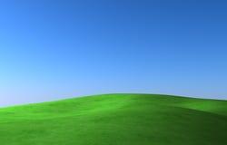 绿色草甸 向量例证