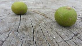 绿色莓果 库存照片