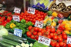 绿色菜市场\ 's英国 免版税库存照片