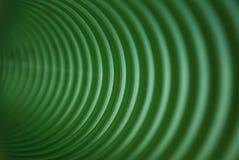 绿色螺旋 免版税库存照片