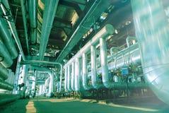 绿色行业传递途径钢定调子区域 免版税库存图片
