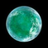 绿色行星 免版税库存照片