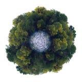 绿色行星 免版税库存图片