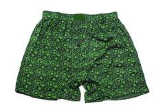绿色裤子 免版税库存图片