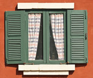 绿色视窗 库存图片