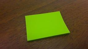 绿色贴纸 免版税库存图片
