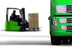 绿色运输 免版税图库摄影