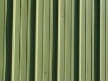 绿色金属房屋板壁 图库摄影