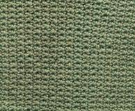 绿色钩针编织补丁 库存图片