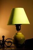 绿色闪亮指示 免版税库存照片