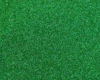 绿色闪烁纹理摘要背景 免版税库存图片