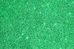 绿色闪烁闪闪发光背景 圣诞节发光的复活节摘要纹理 8个看板卡eps文件招呼的包括的模板 复制空间 免版税库存照片