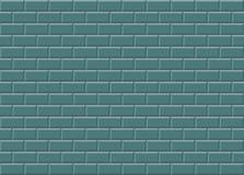 绿色陶瓷锦砖构造背景 向量例证