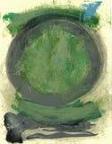绿色陶 免版税图库摄影