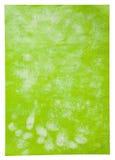 绿色页纸张海报 库存图片