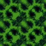绿色飞溅样式 免版税库存图片