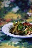 绿色食物 免版税库存照片