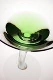 绿色马蒂尼鸡尾酒顶层 免版税库存图片