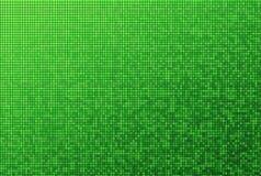 绿色马赛克模式 免版税库存图片