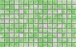绿色马赛克 库存照片