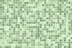 绿色马赛克 免版税库存图片