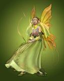 绿色魔术 库存照片