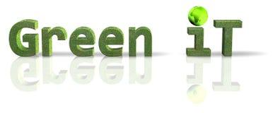 绿色 皇族释放例证